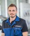 Servicetechniker Simon Drews